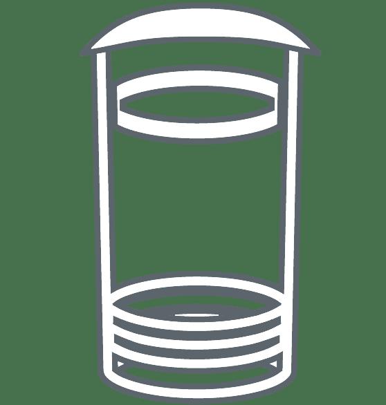 Pictogramme poubelle