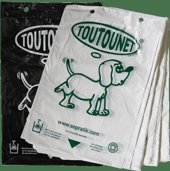 Liasses de sacs à déjections canines TOUTOUNET®