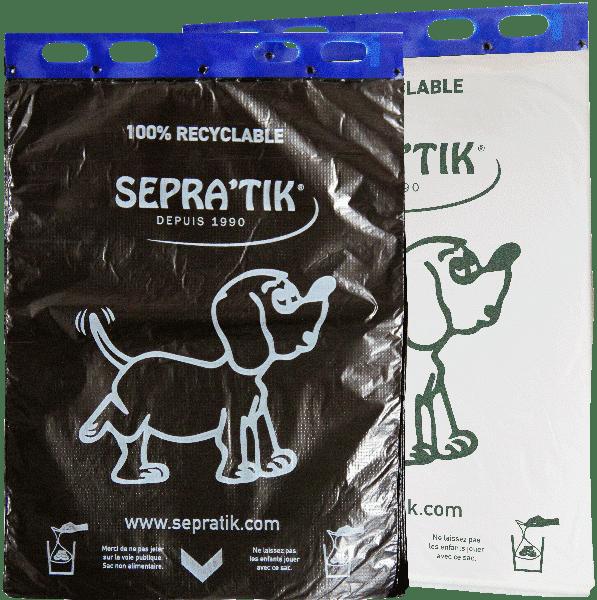 Liasses de sacs à déjections canines SEPRATIK®