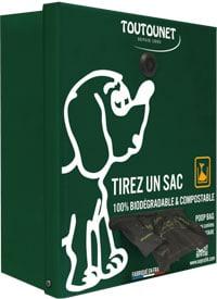 TOUTOUNET SNOOPY pour sacs en rouleaux de 200 à 600 sacs