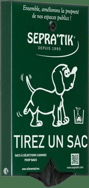 distributeur de sacs canins SEPRATIK MILO