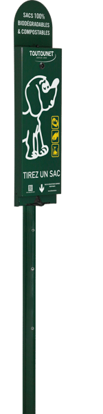 borne de propreté canine TOUTOUNET-AIRE DES VOLCANS-6005