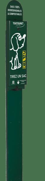 distributeur de sacs à déjections canines TOUTOUNET-SAINT-NAZAIRE-6005