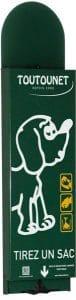 Distributeur de sacs canins TOUTOUNET-BORMES-LES-MIMOSAS 6005