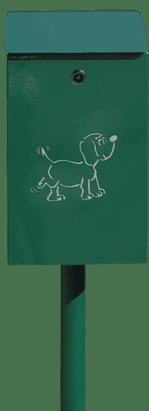 Poubelle Bourbonnaise pour la collecte spécifique des déchets canins